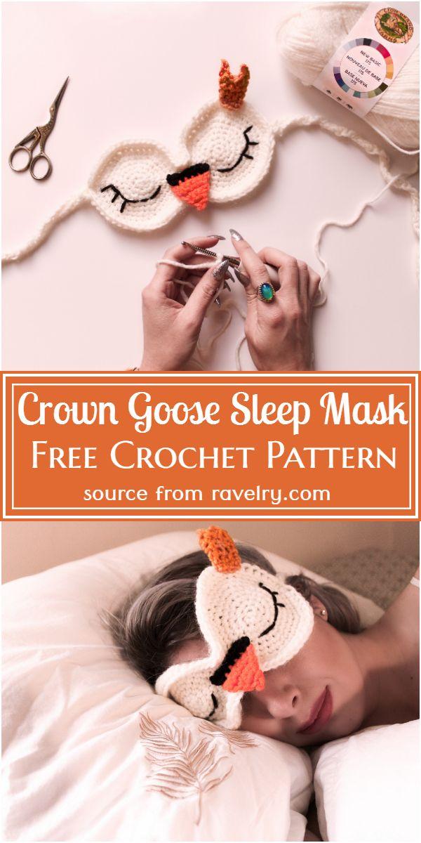 Crown Goose Crochet Pattern