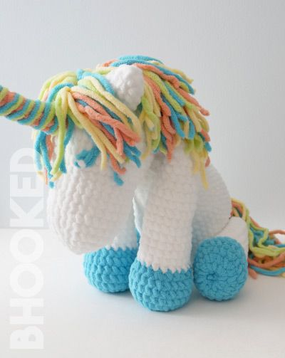 Cuddles Crochet Unicorn Pattern