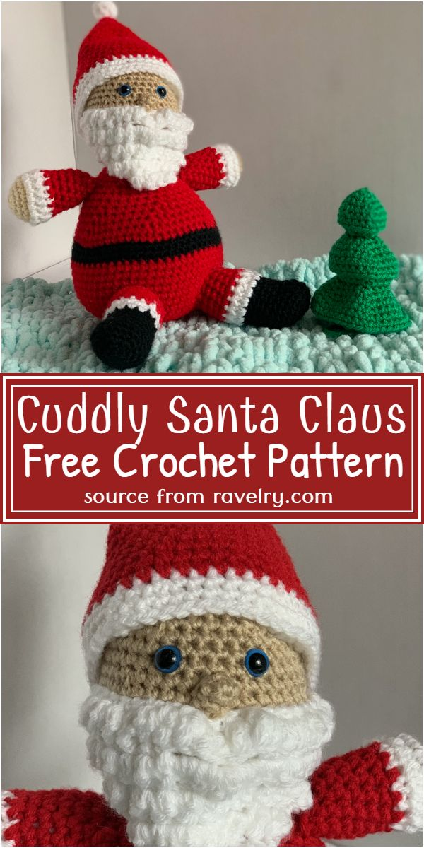 Cuddly Claus Pattern
