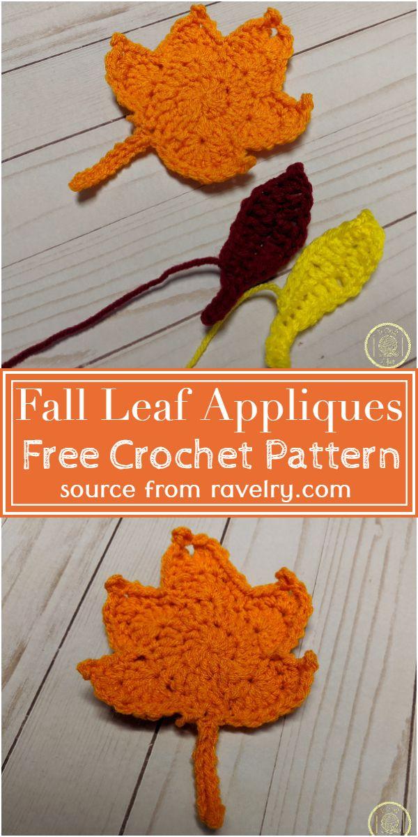 Fall Appliques Pattern