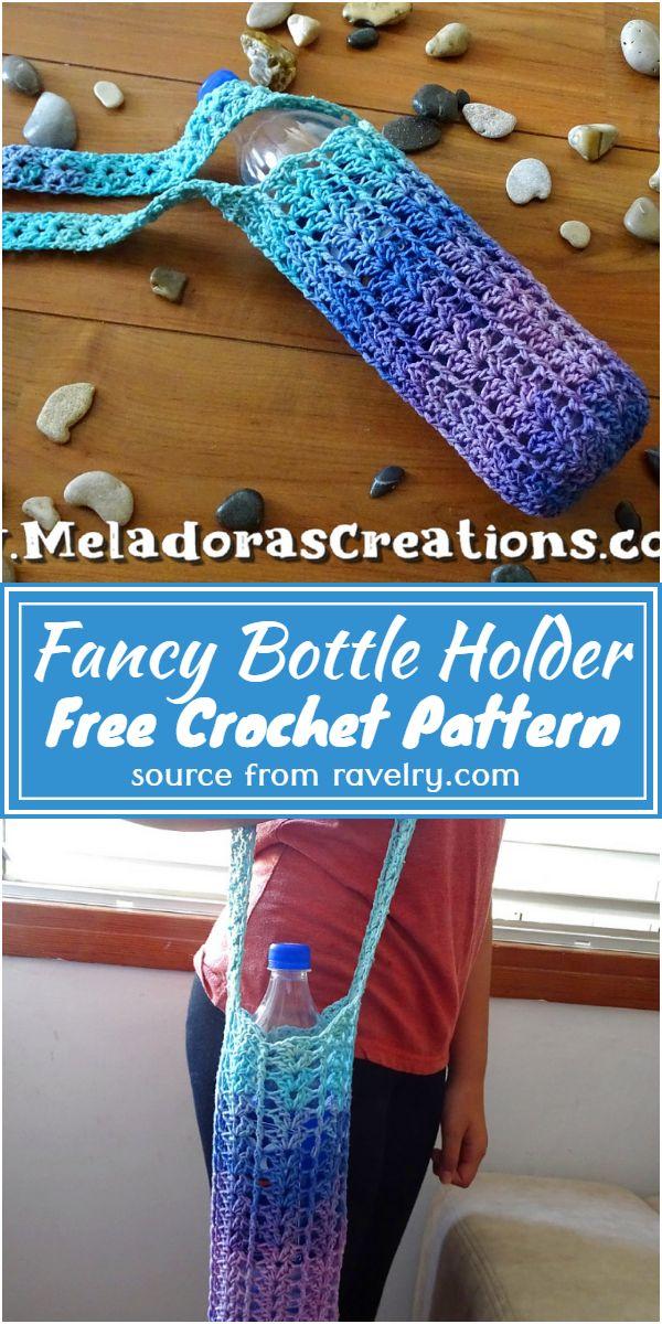 Fancy Bottle Holder Crochet Pattern