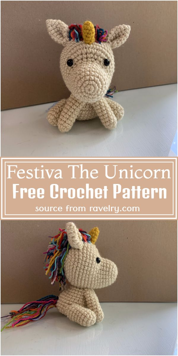 Festiva The Free Unicorn Crochet Pattern
