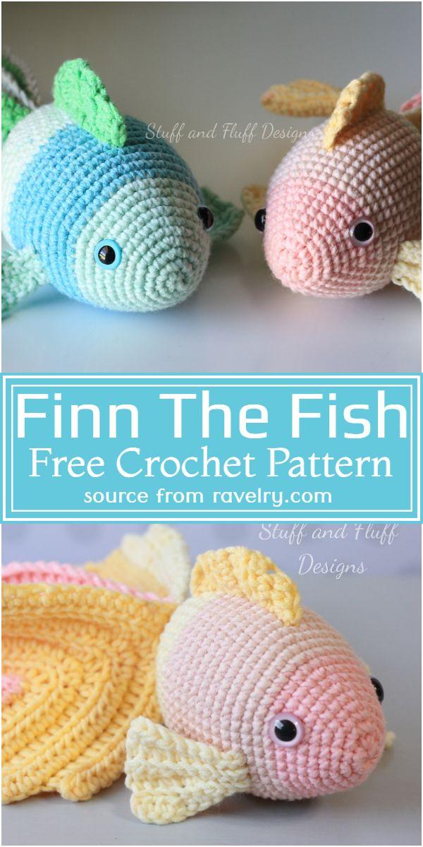Finn The Crochet Fish Pattern
