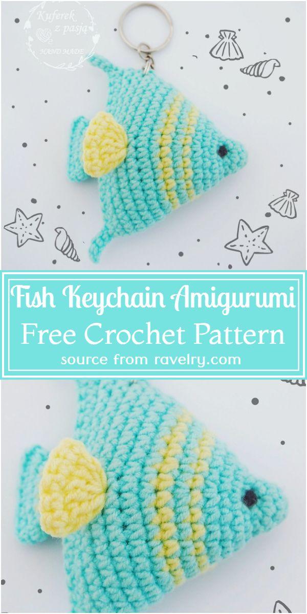Keychain Amigurumi Pattern