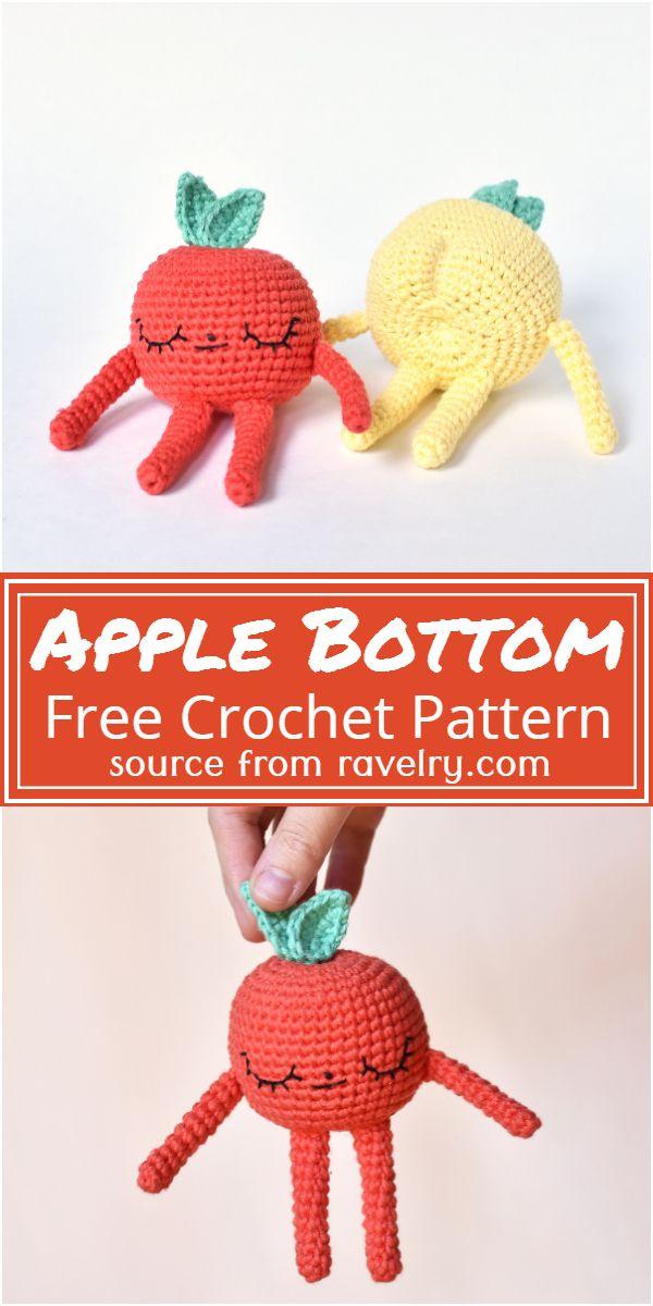 Free Crochet Apple Bottom Pattern