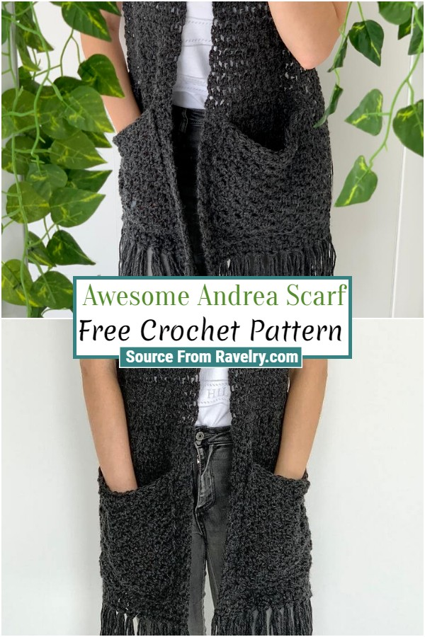 Free Crochet Awesome Andrea Scarf
