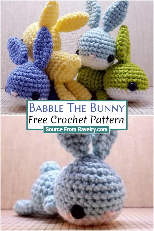 Free Crochet Babble The Bunny