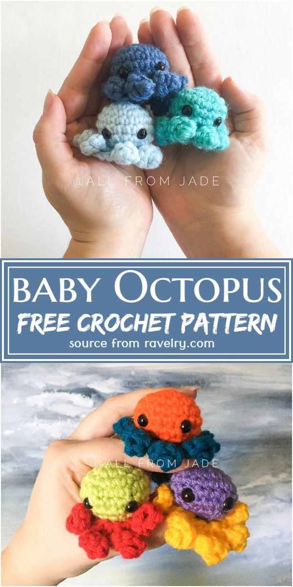 Free Crochet Baby Octopus Pattern