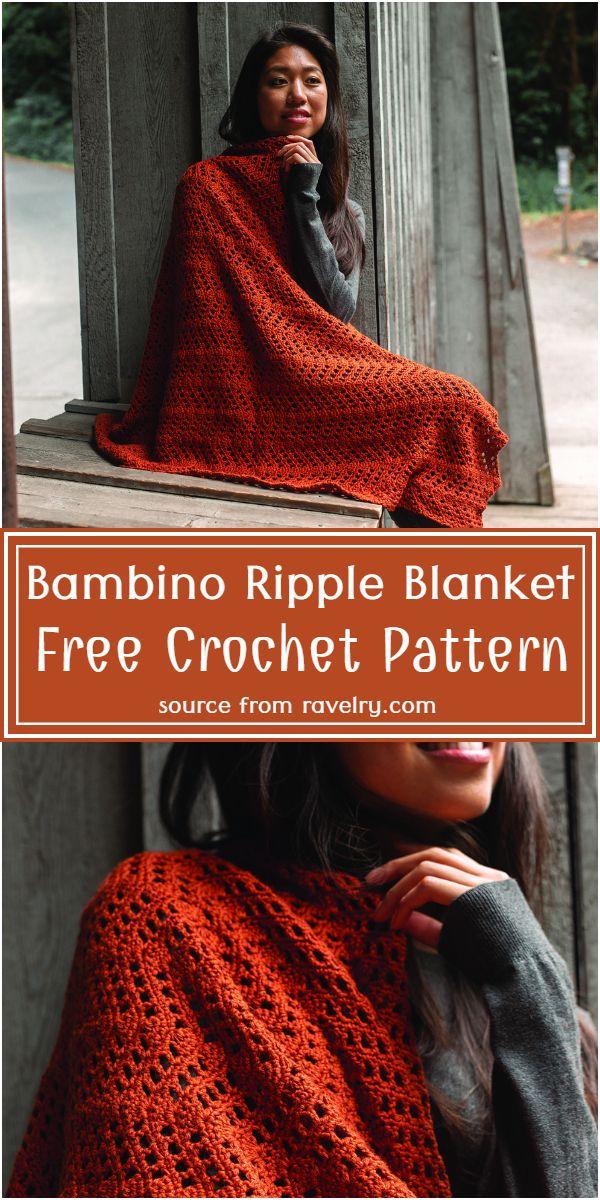 Free  Bambino  Blanket Pattern