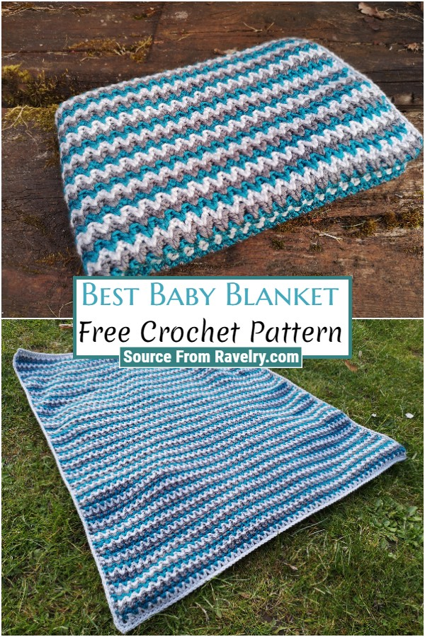 Free Crochet Best Baby Blanket