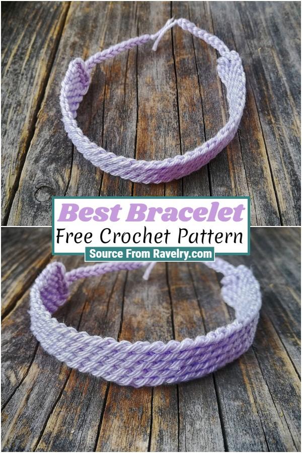 Free Crochet Best Bracelet
