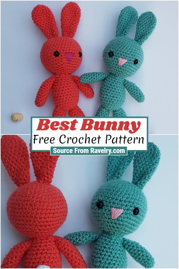 Free Crochet Best Bunny