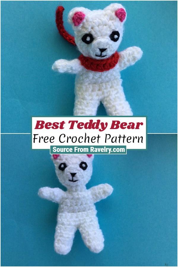 Free Crochet Best Teddy Bear