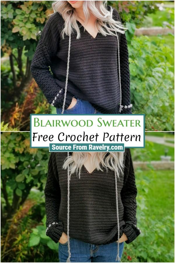 Free Crochet Blairwood Sweater