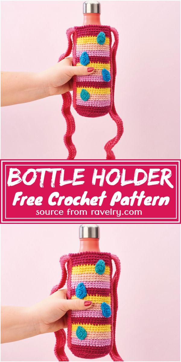 Free Crochet Bottle Holder Pattern