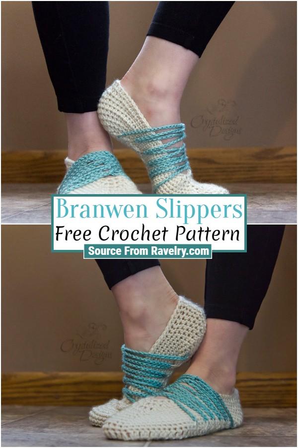 Free Crochet Branwen Slippers