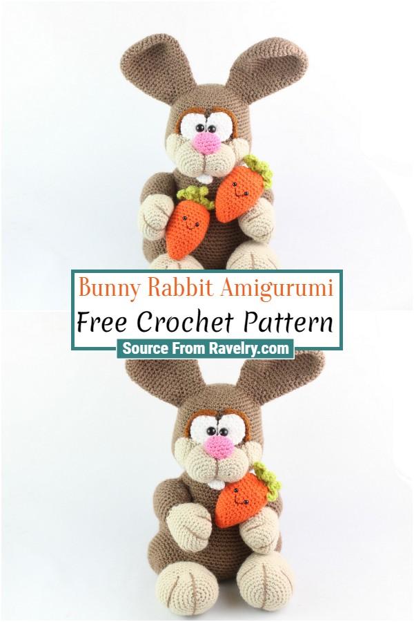 Free Crochet Bunny Rabbit Amigurumi