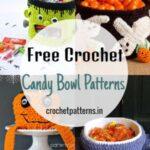 Fun and Beautiful Free Crochet Candy Bowl Patterns