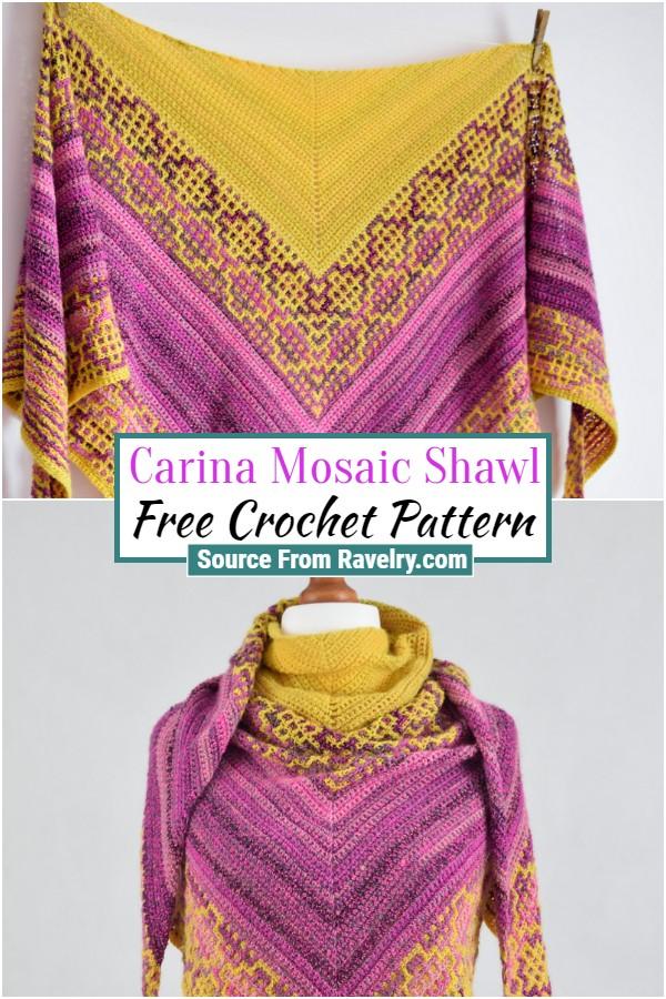 Free Carina Mosaic Shawl