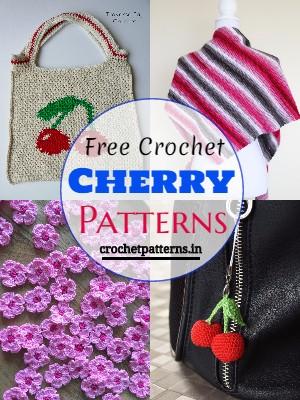 Free Crochet Cherry Patterns