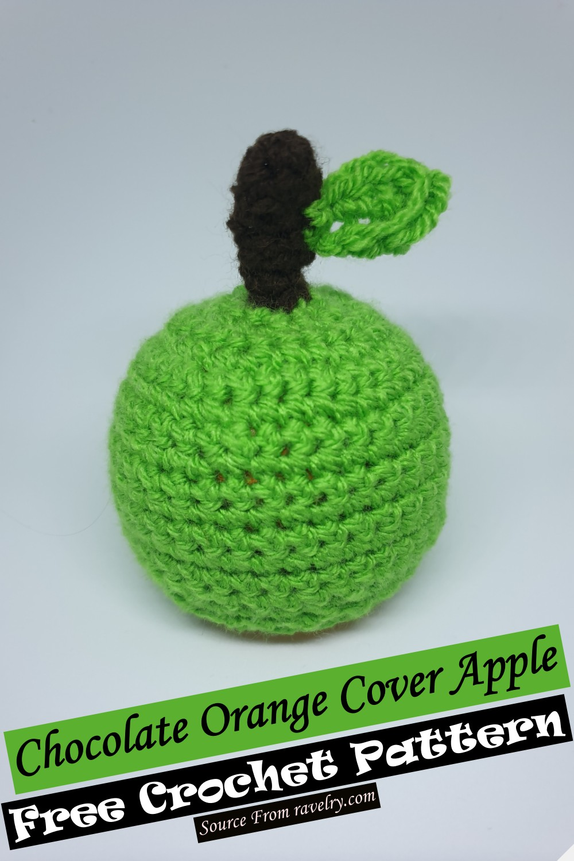 Free Crochet Chocolate Orange Cover Apple Pattern