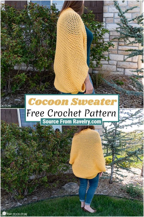 Free Crochet Cocoon Sweater