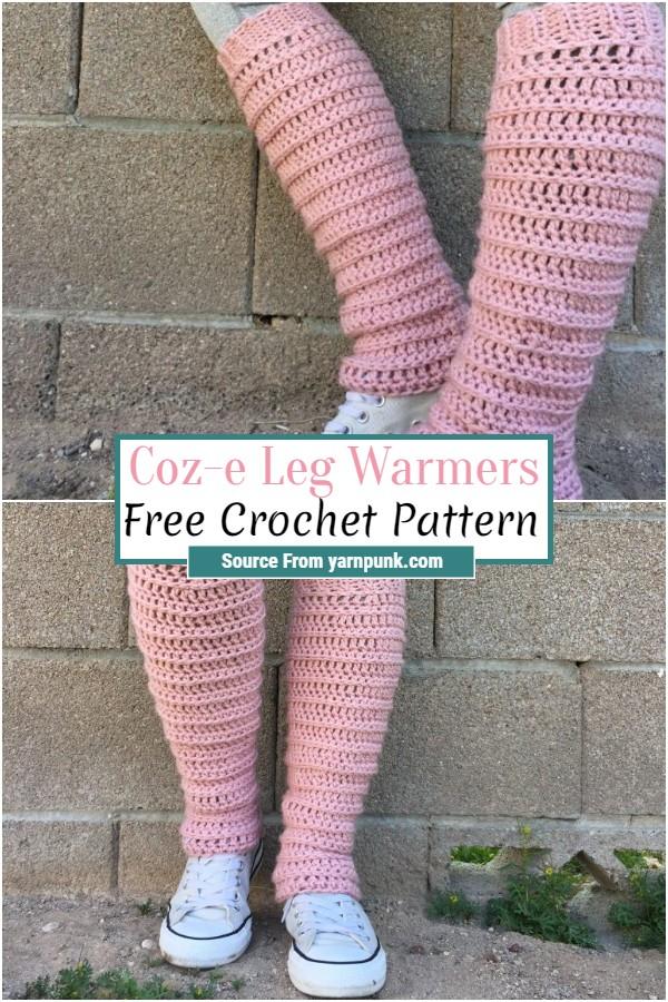 Free Crochet Coz-e Leg Warmers