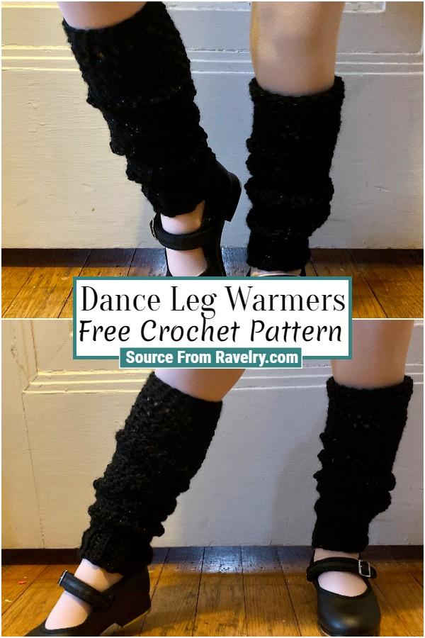 Free Crochet Dance Leg Warmers