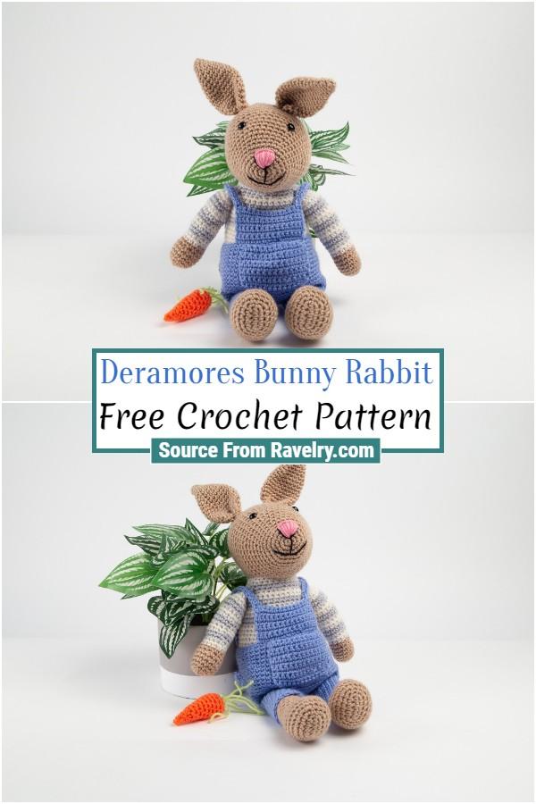 Free Crochet Deramores Bunny Rabbit