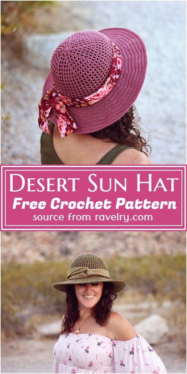 Free Crochet Desert Pattern