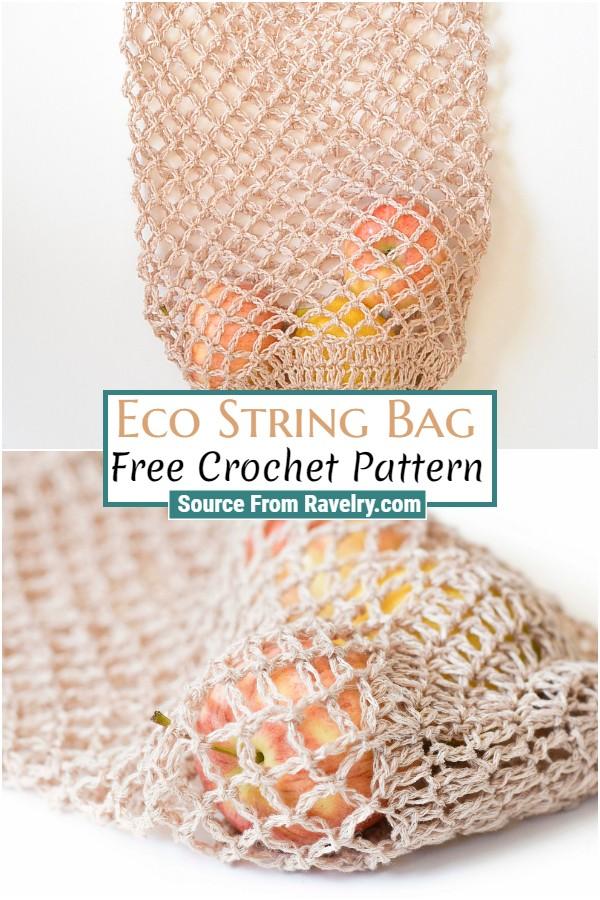Free Crochet Eco String Bag