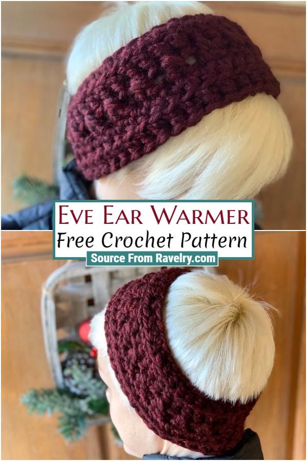 Free Crochet Eve Ear Warmer