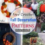Free Crochet Fall Decoration Patterns