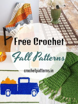 Free Crochet Fall Patterns