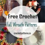 Free Crochet Fall Wreath Patterns