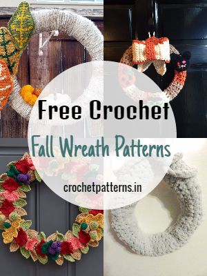 Free Crochet Fall Wreath Patterns