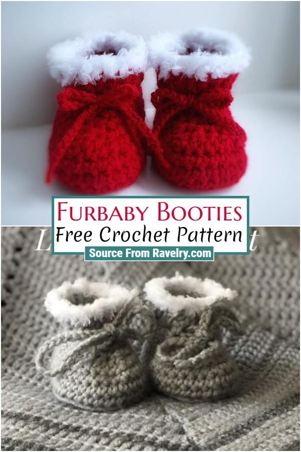 Free Crochet Furbaby Booties