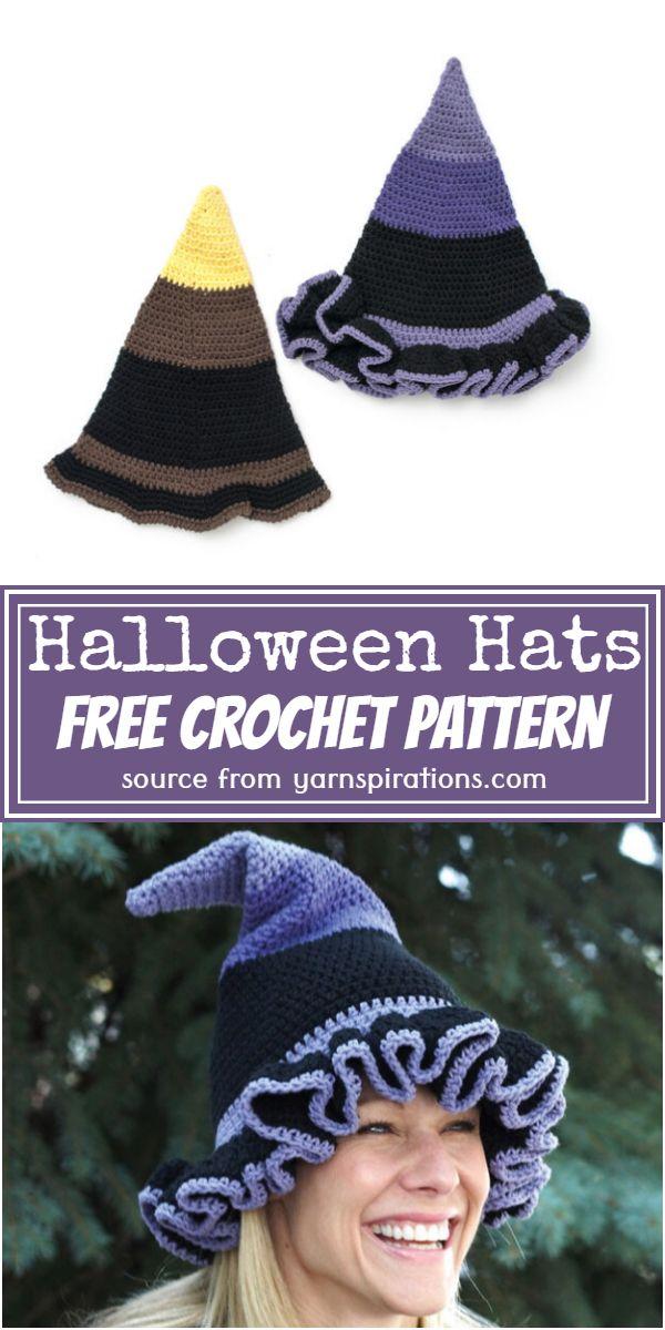 Free Halloween Hats Pattern