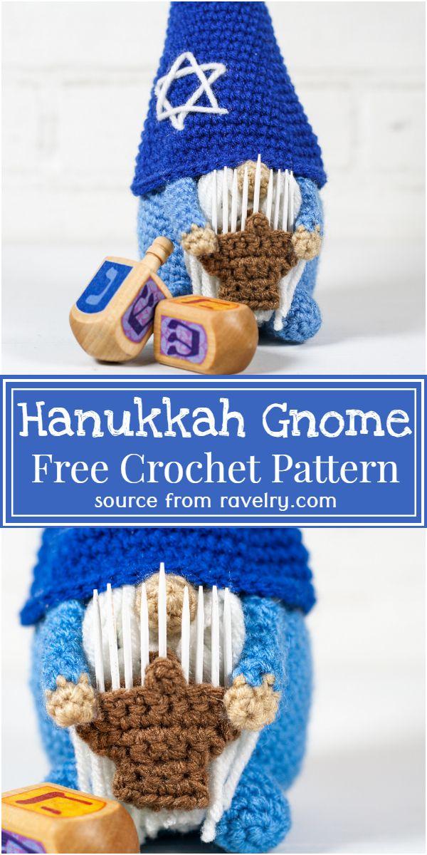 Free Crochet Hanukkah Gnome Pattern