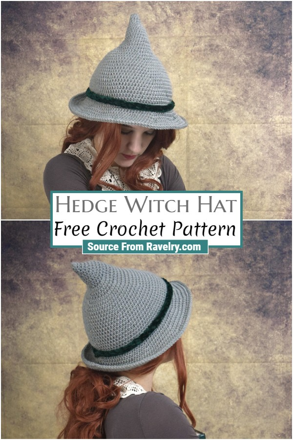 Free Crochet Hedge Witch Hat