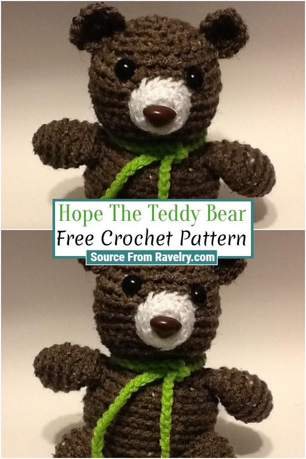 Free Crochet Hope The Teddy Bear
