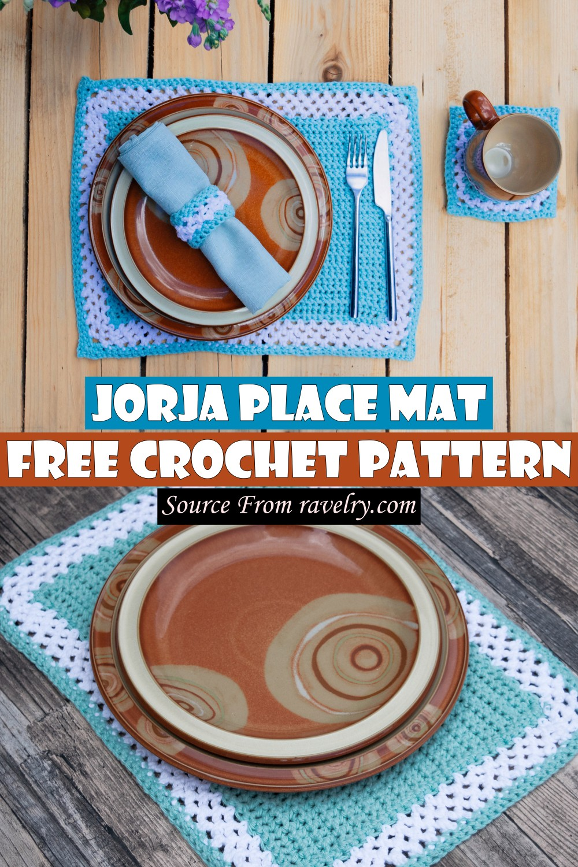 Free Crochet Jorja Place Mat Pattern