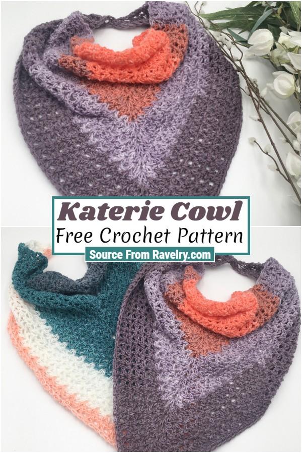 Free Crochet Katerie Cowl 1