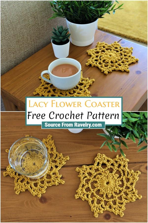Free Lacy Coaster pattern