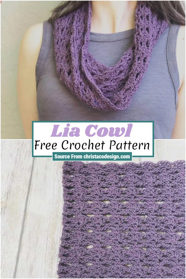 Free Crochet Lia Cowl