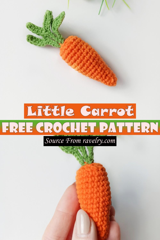 Free Crochet Little Carrot Pattern