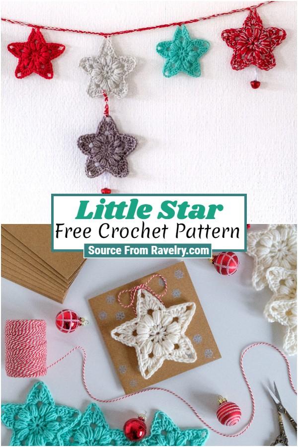 Free Crochet Little Star