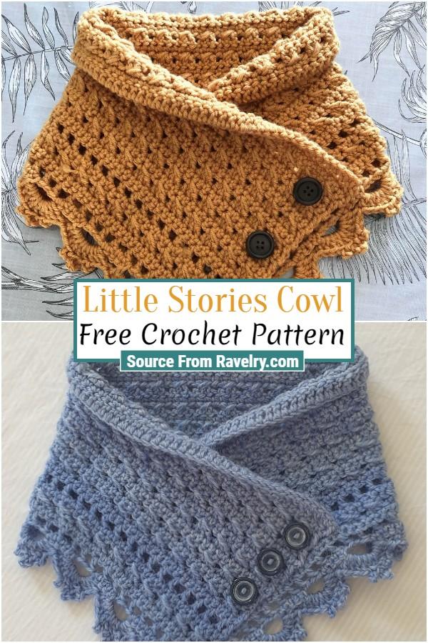 Free Crochet Little Stories Cowl