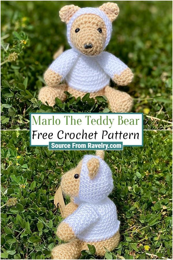 Free Crochet Marlo The Teddy Bear