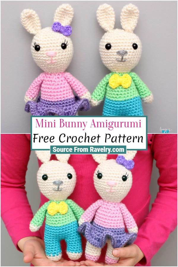 Free Crochet Mini Bunny Amigurumi